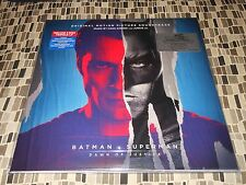 Batman v Superman Soundtrack Dawn of Justice 3Lp 180g Colored vinyl  Import