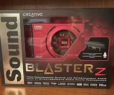NEW Creative Sound Blaster Z Gaming Audio Card w High Performance Headphone Amp