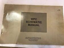 WPC Schematic Manual Williams