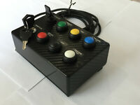 Button Box for PC/consoles sim racing/flight sim/ets2 programmable buttons+decal