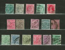 INDIA - Vintage Definitives Used Collection  (368)