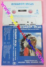 MC ECUADOR INCAS El condor pasa TRADITIONELLE MUSIK ANDEN 24650 no cd lp dvd*vhs
