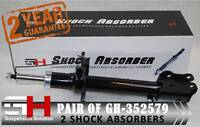2 NEW FRONT SHOCK ABSORBERS FOR FORD MAVERICK ESCAPE MAZDA TRIBUTE/GH-352579P/