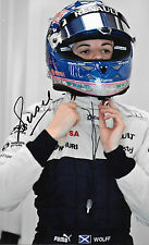 Susie Wolff SIGNED  12x8  F1 Williams Portrait 2013