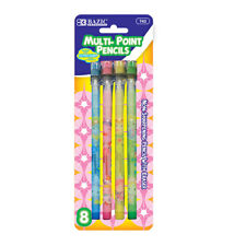 Fancy Multi-Point Pencil (8/Pack) New, Sharp and ready to use pencils - Us Ship