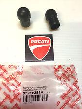 contrappesi manubrio ducati monster 600 620 696 ORIGINALI cod. 87210281A