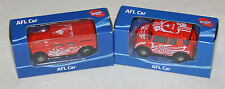 Sydney Swans 2014 + 2015 AFL Kids Collectable Mini Model Car Twin Pack New