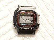 Casio G Shock Black Digital Watch 200 Meters  Alarm Chronograph Stainless Steel