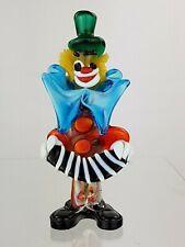 Vintage Murano Retro Art Glass Clown C. 1960s