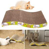 4X(Pet Cat Kitten Scratch Scratcher Pad Seize Catch Board Mat Catnip Bed S U5B0