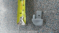 HYMER MOTORHOME ALLOY PROFILE END CAP GREY LEFT (PK 10)