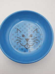 Van Ness ECOWARE Cat Dish, 8 Ounce, Assorted Colors, Pacific Blue, OPEN BOX