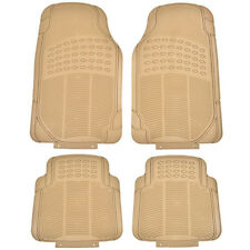 4PC Cargo Front &Rear Floor Mat All Weather Heavy Duty Universal Cars Protection