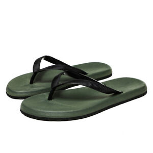 Mens Flats Flip Flops Casual Summer Beach Sandals Outdoor Slippers Shoes Plus SZ