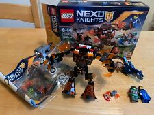 HUC *REAL* LEGO NEXO KNIGHTS INFERNOX CAPTURES THE QUEEN - 70325 COMPLETE WITH B