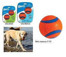 Dog Toy Chuckit Ultra Balls 2 Pack Throw Retrieve Catch Play Durable Fetch Ball