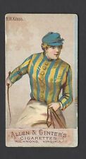 ALLEN & GINTER - RACING COLORS OF THE WORLD (NO BORDER) - N W KITSON