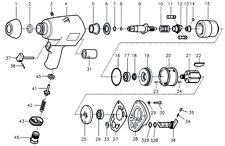 Avvitatore svitabulloni Beta 1927A coppia di martelli palette di ricambio N° 11