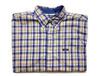 Vintage Chaps by Ralph Lauren Mens Shirt Size L Short Sleeve Button Up