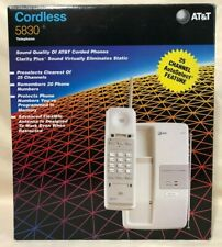 AT&T 5830 Cordless Telephone - New/Open Box - Dove Gray Vintage 1995