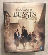 New Fantastic Beasts And Where To Find Them 2D / 3D Blu-Ray With Niffler Figure