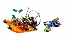 LEGO Agents 8968 River Heist Complete Set w/ Manual & Minifigures (No Box)