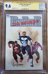 The Punisher: No Escape Marvel Comics GN 1990 CGC 9.6 SS Joe Jusko