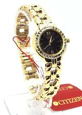 Citizen Gold-tone Ladies Dress Watch, EJ5502-53E