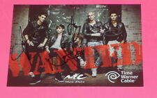 THE WANTED ENTIRE BAND SIGNED 5X7 PROMO PHOTO *EXACT PROOF*
