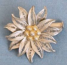 1 1/8 Inch South American Wire Floral Pin Trombone Clasp