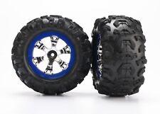 Traxxas pneus sur jante 1:16 summit-trx7274