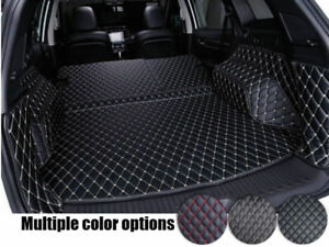 For Renault Koleos 2017 2018 2019 Car Rear Trunk Mat Cargo Boot Mat Carpet