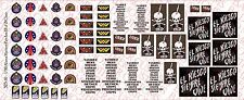 1/10 Scale Decals: Aliens Colonial Marines Patches - Waterslide Decals