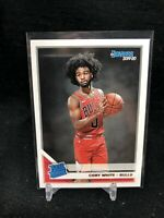 2019-20 Panini Donruss Coby White #206 Rated Rookie RC Chicago Bulls UNC AH95