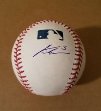 CURTIS GRANDERSON METS signed baseball EXACT PROOF PIC