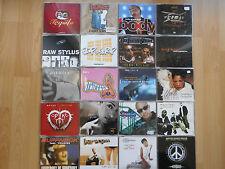 CD-Single-Paket No. 2: Rap HipHop Dance (e.g.Promos) of the 90s