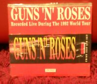 GUNS 'N' ROSES - recorded live during the 1992 world tour - 3 cd - sigillato