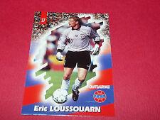 PANINI FOOTBALL CARD 98 1997-1998 E. LOUSSOUARN LA BERRICHONNE CHATEAUROUX LBC
