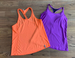 Under Armour Athletic Yoga Gym Tank Tops Sports Shirts Women's SZ M/L (Lot of 2)