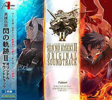 New THE LEGEND OF HEROES SEN NO KISEKI II ORIGINAL SOUNDTRACK 2 CD JAPAN