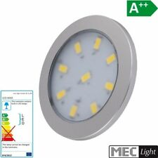 LED CONSTRUCCIÓN Muebles Luz encimera ORBIT XL en plata blanco frío 6000k 12V/3W