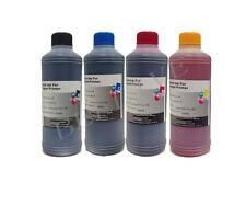 Ricarica Cartucce 4 Flaconi 500ml inchiostro Colori per Brother Cano Epson HP