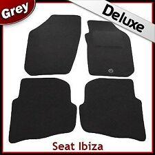 Seat Ibiza 2003 2004 2005 2006 2007 2008 Tailored LUXURY 1300g Car Mats GREY