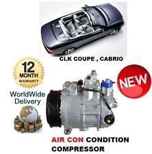 FOR MERCEDES CLK240 CLK 280 CLK320 CLK350 2002-> AC AIR CON CONDITION COMPRESSOR