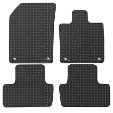 Volvo S40 MK II 2004-2012 Fully Tailored Black Rubber Car Boot Mat