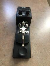 Mfj-557 Ham Radio Morse Code Cw Straight Key Practice Oscillator Pre-owned