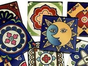 Mexican Inspired Glass Tiles 2.5cm - Mix 4 - Mosaic Art Craft Supplies