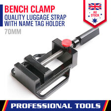 70mm Bench Vice Clamp Drill Press Jaw Quick Release Milling Metalwork Woodwork
