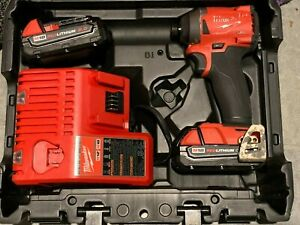 "Milwaukee 2853-22 M18 FUEL 18-Volt 1/4"" Hex Impact Driver Kit"