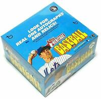 2021 Topps Heritage Baseball Factory Sealed 24 Pack Retail Display Box